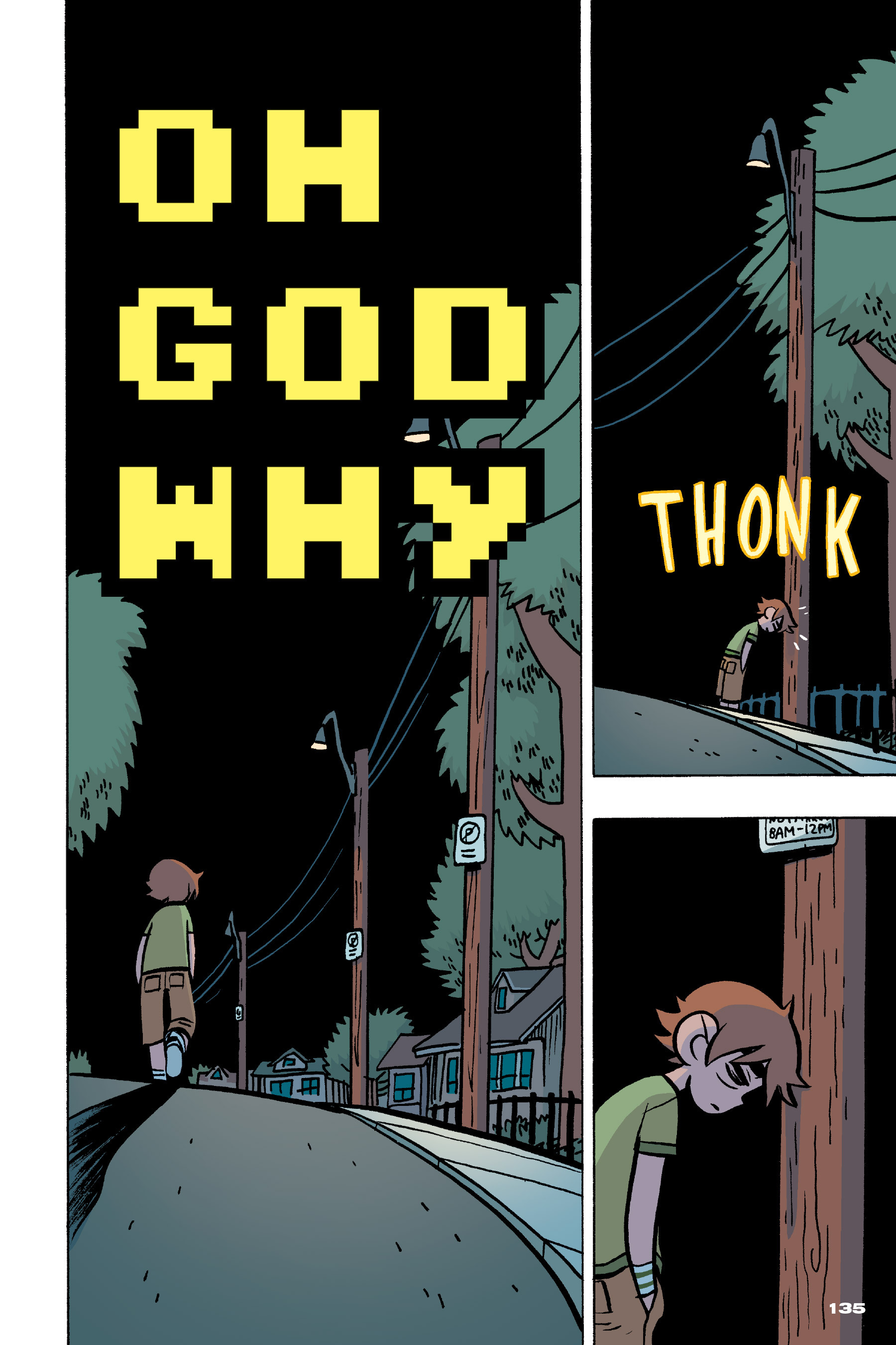 Read online Scott Pilgrim comic -  Issue #4 - 132
