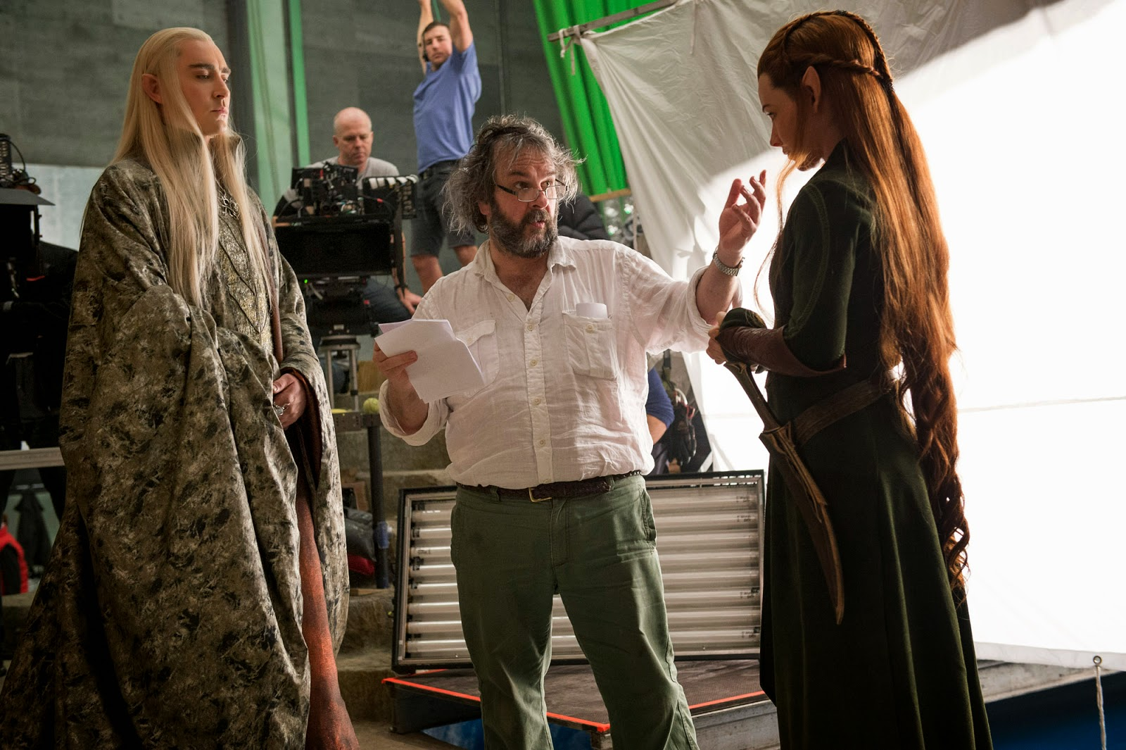 The Hobbit: The Desolation of Smaug behind the scenes