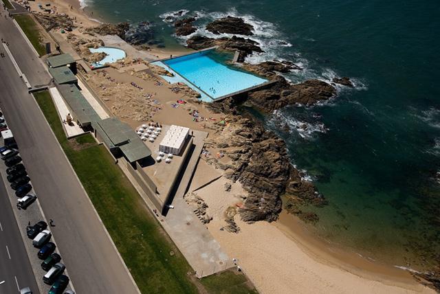 A f a s i a alvaro siza for Alvaro siza leca swimming pools