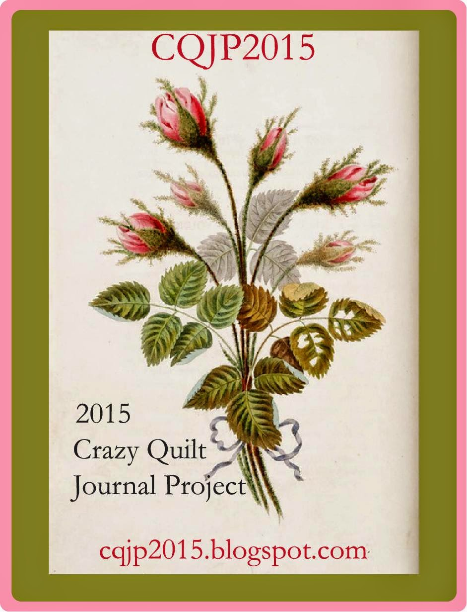 Crazy Quilt Journal Project 2015