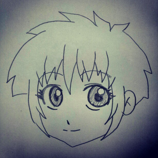 Anime Characters Easy To Draw : Welcome to quicksketch how draw easy anime