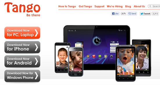 tango aplikasi untuk android apple windows phone,cara install tango dalam smartphone,tablets,pc,panggilan percuma aplikasia
