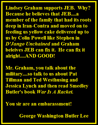 Graham's Cracker Endorsement of JEB