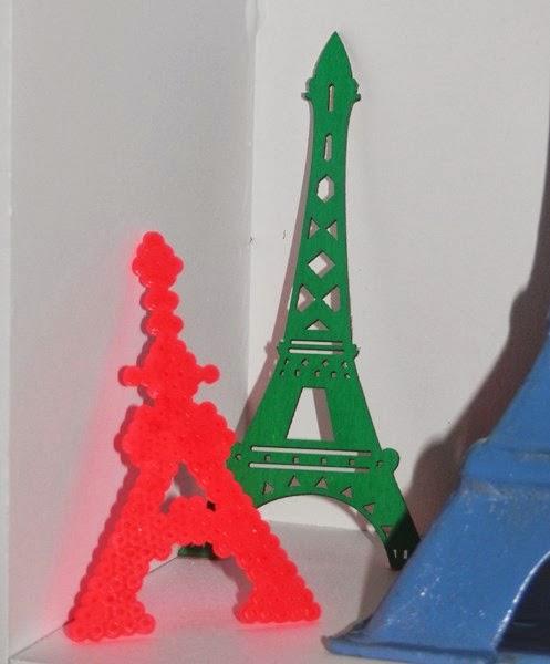 DIY Tour Eiffel en Perles Hama @Creavea