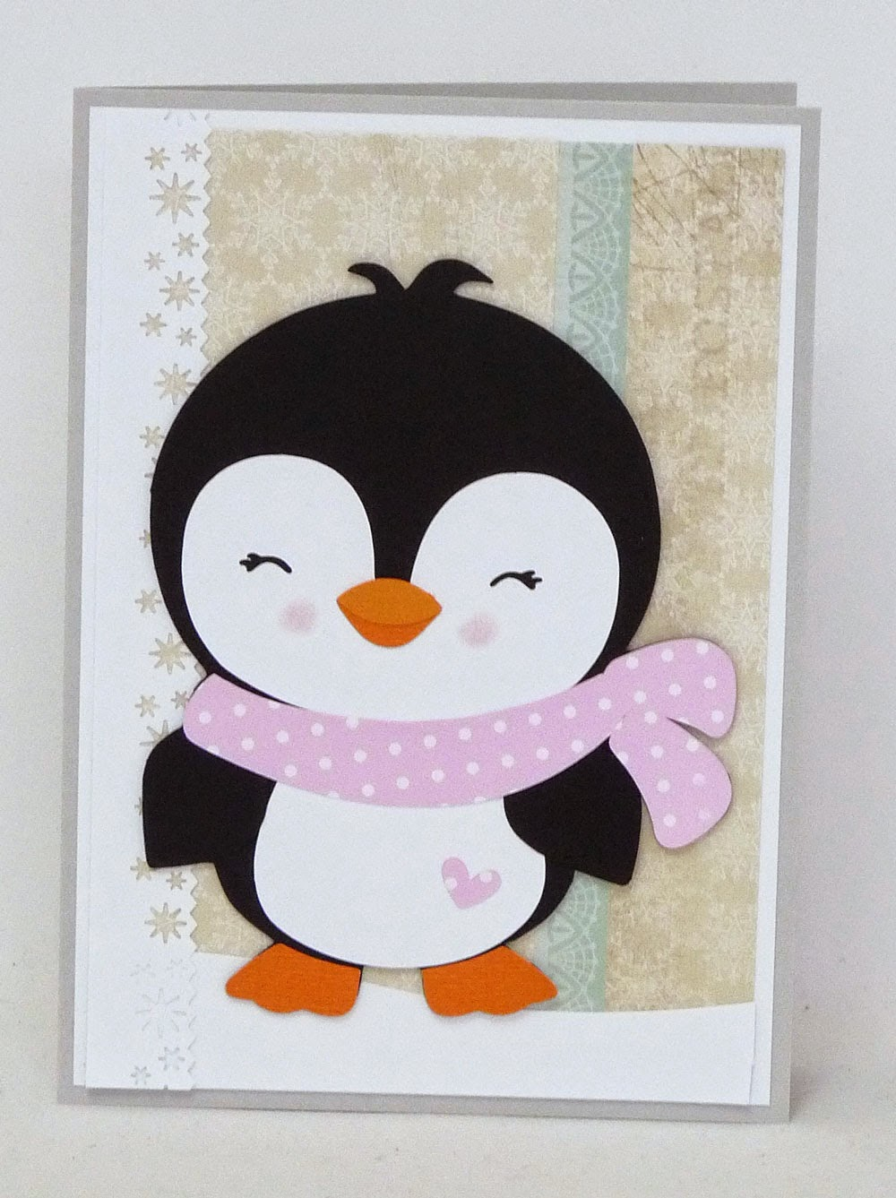 Designs on cloud 9 cute and cool christmas cards these cute and cool penguins were perfect for making a few christmas cards just look at those happy faces m4hsunfo