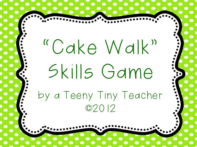 Influential image for cake walk numbers printable