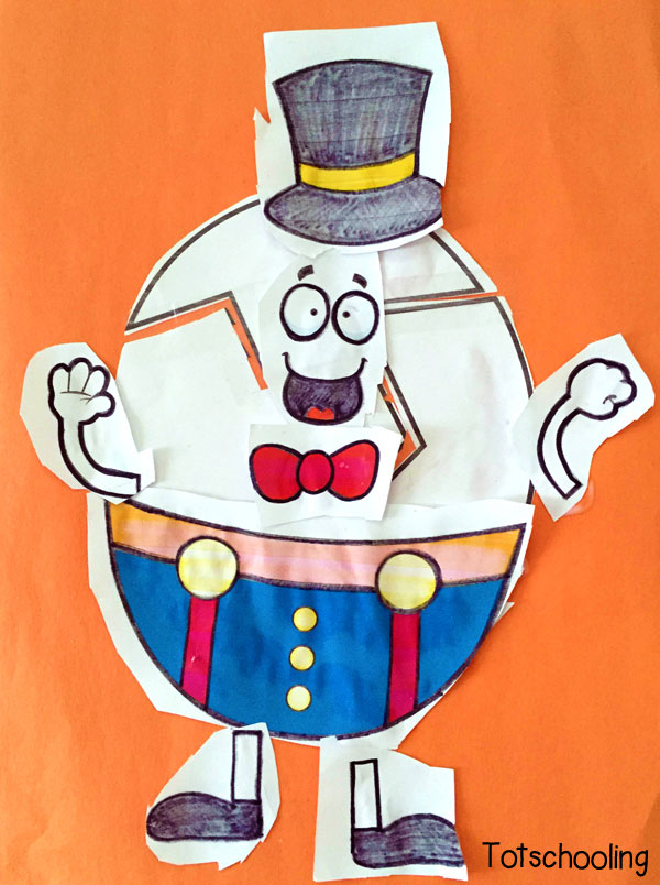 Humpty dumpty printable cut paste activity totschooling click here to download your free humpty dumpty printable pronofoot35fo Image collections