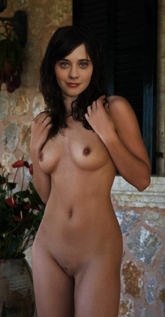zooey deschanel naked
