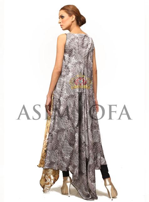 AsimJofaSemiFormaldresses201328129 - Asim Jofa Semi Formal Long kameez Designs 2013 | Asim Jofa 2013