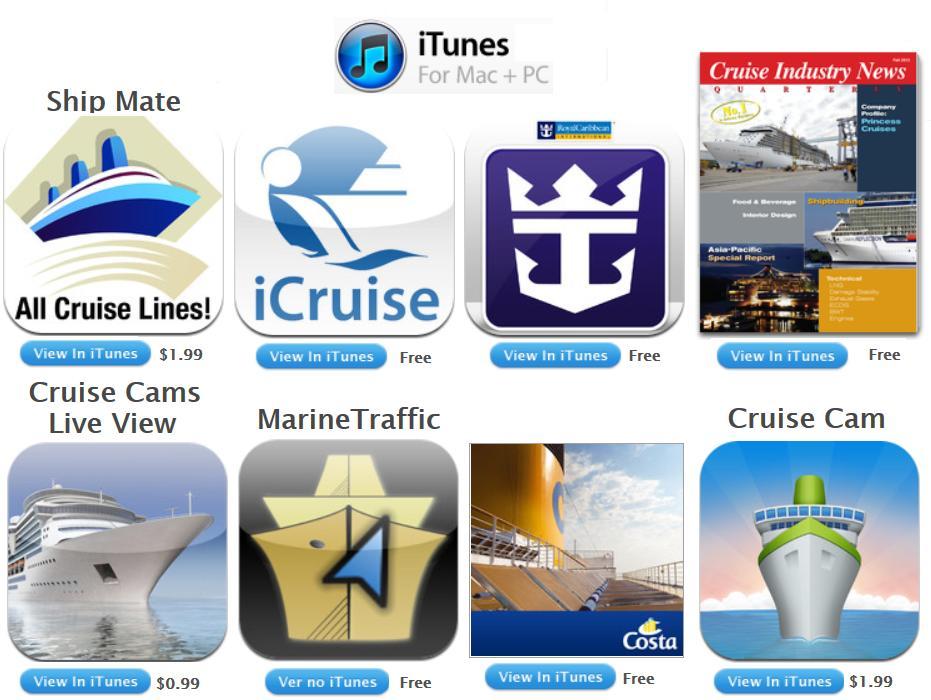 Canal do Porto de Santos: Aplicativos sobre cruzeiros para ...