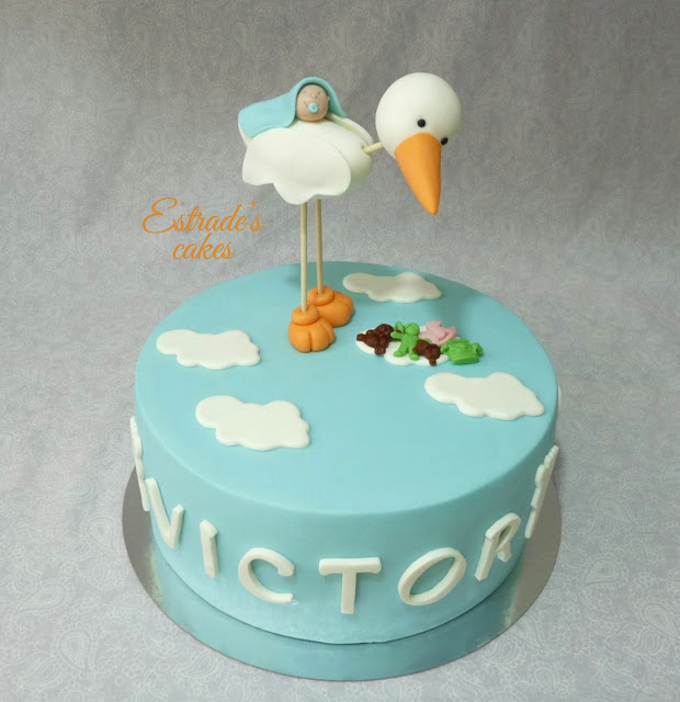 tarta para un bautizo 2