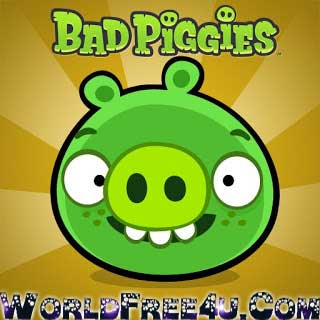 Cover Of Bad Piggies Full Latest Version PC Game Free Download Mediafire Links At worldfree4u.com