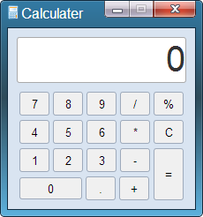 Amazing Windows 7 Calculator UI Using Pure CSS3