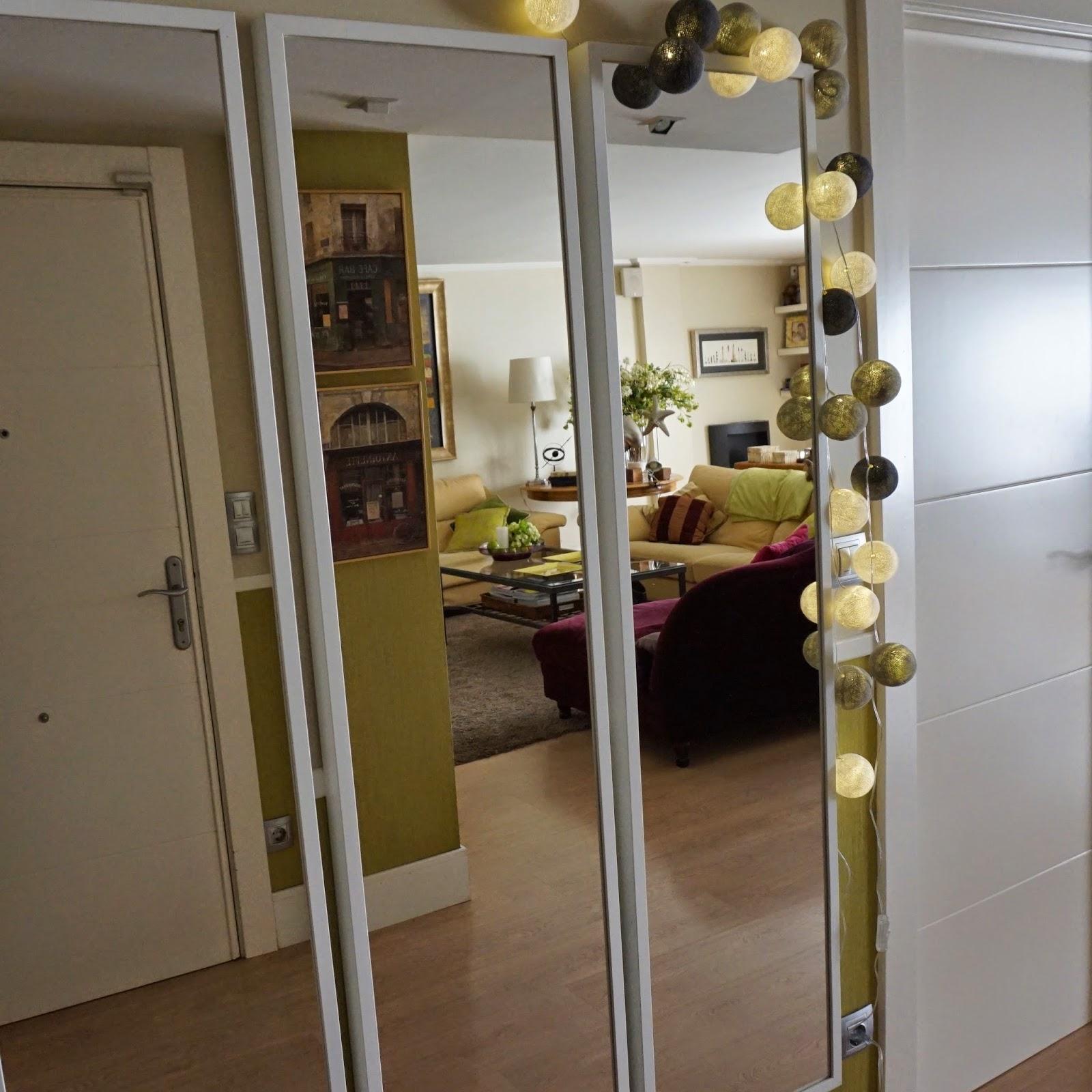 2 in a closet un objetivo cumplido for Ikea espejos grandes