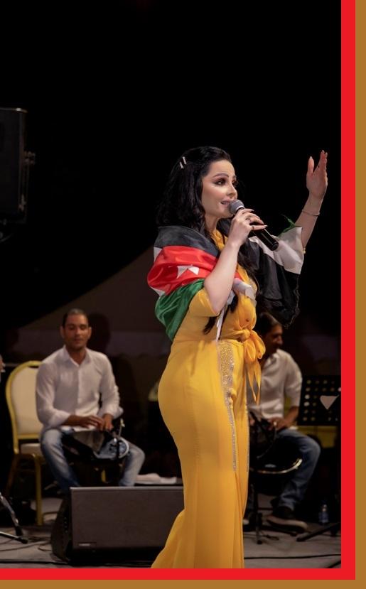 سوبر ستار العرب ديانا كرزون في حفل بالأردن