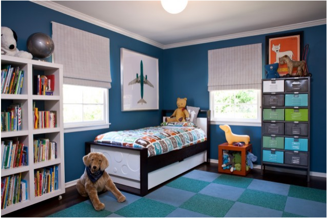 Boys' Bedroom Paint Idea