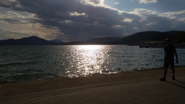 Lago Woerther - Klagenfurt - Tramonto