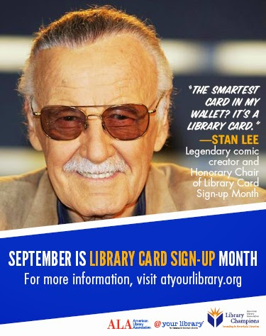 Bring Your Friends to the Library: It's National Library Card Sign-Up Month!