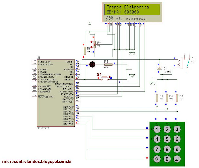 Projeto 21: Tranca Eletrônica
