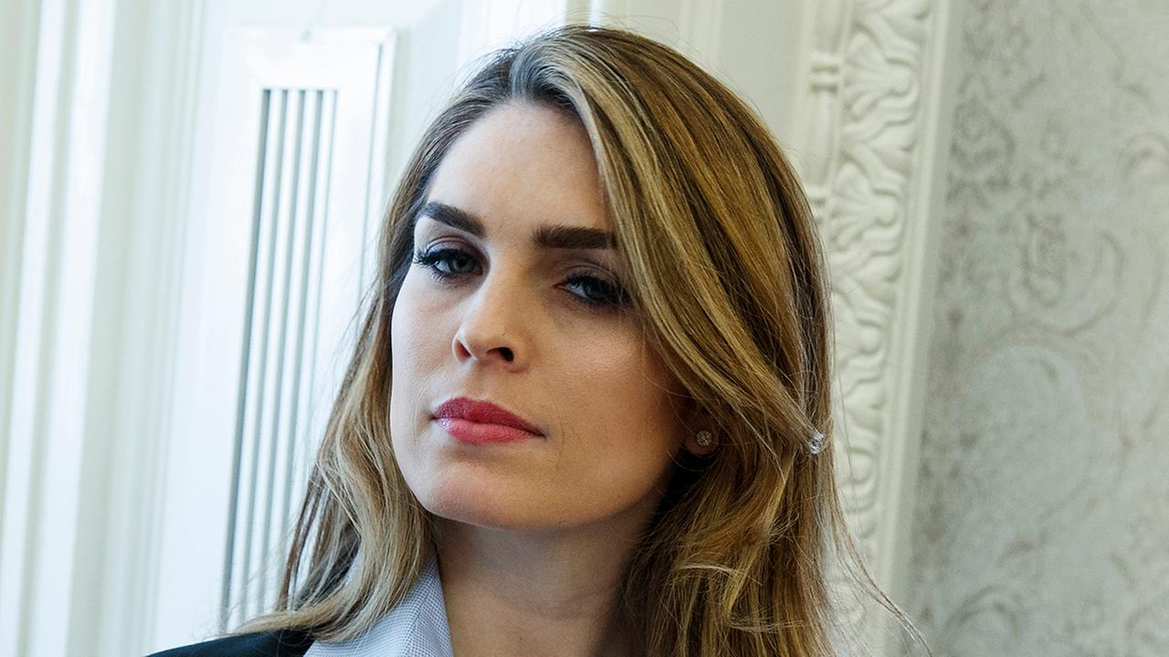 HOPE HICKS FIRED
