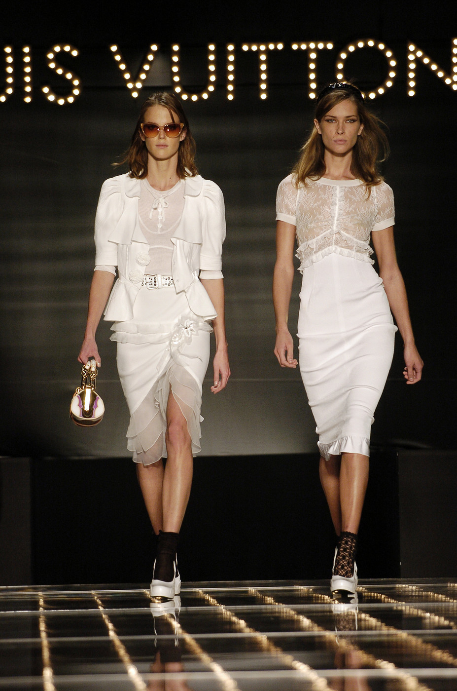 Louis Vuitton Spring/Summer 2005; designer look for less via fashioned by love