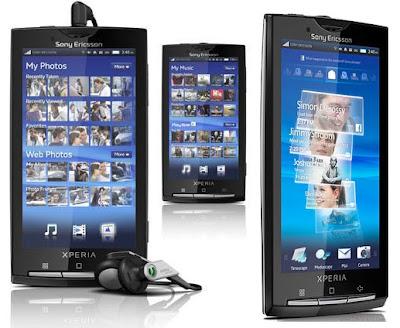 Harga dan Spesifikasi Sony Ericsson Xperia X10