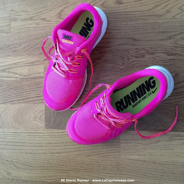 Nike Free 5.0 Pink, Mi Diario Runner, La Caprichossa, blog de moda, running