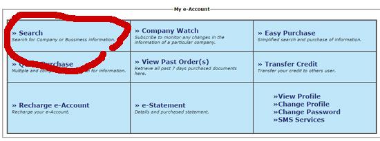 Cara Semak Online Pendaftaran SSM Perniagaan Online