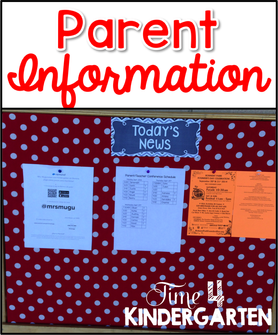 parent information board