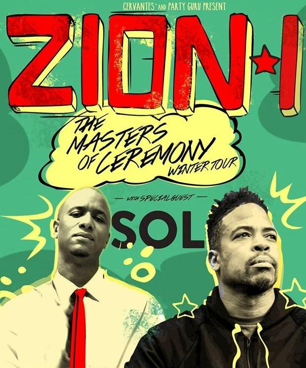 Zion I With Sol @ Cervantes Masterpiece Ballroom (Review