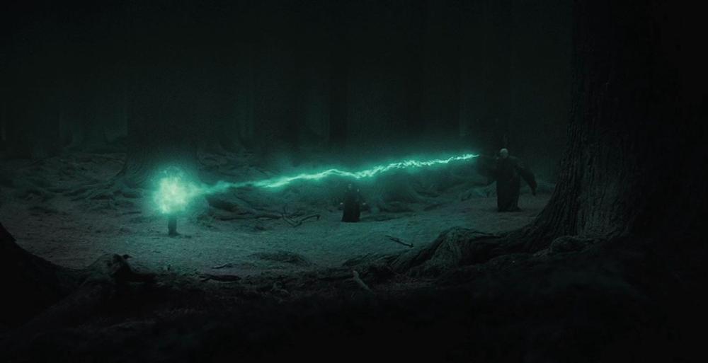 A wizard 39 s kiss harry potter spells a f for Farbideen wand