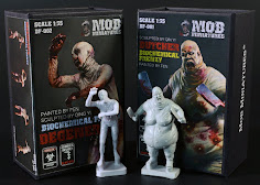 a biochemical frenzy in our build review of Mob Miniatures new 35th scale zombie sets...