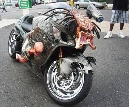 moto predador