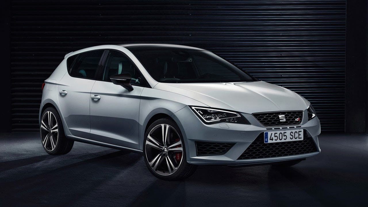 SEAT Leon Cupra side front