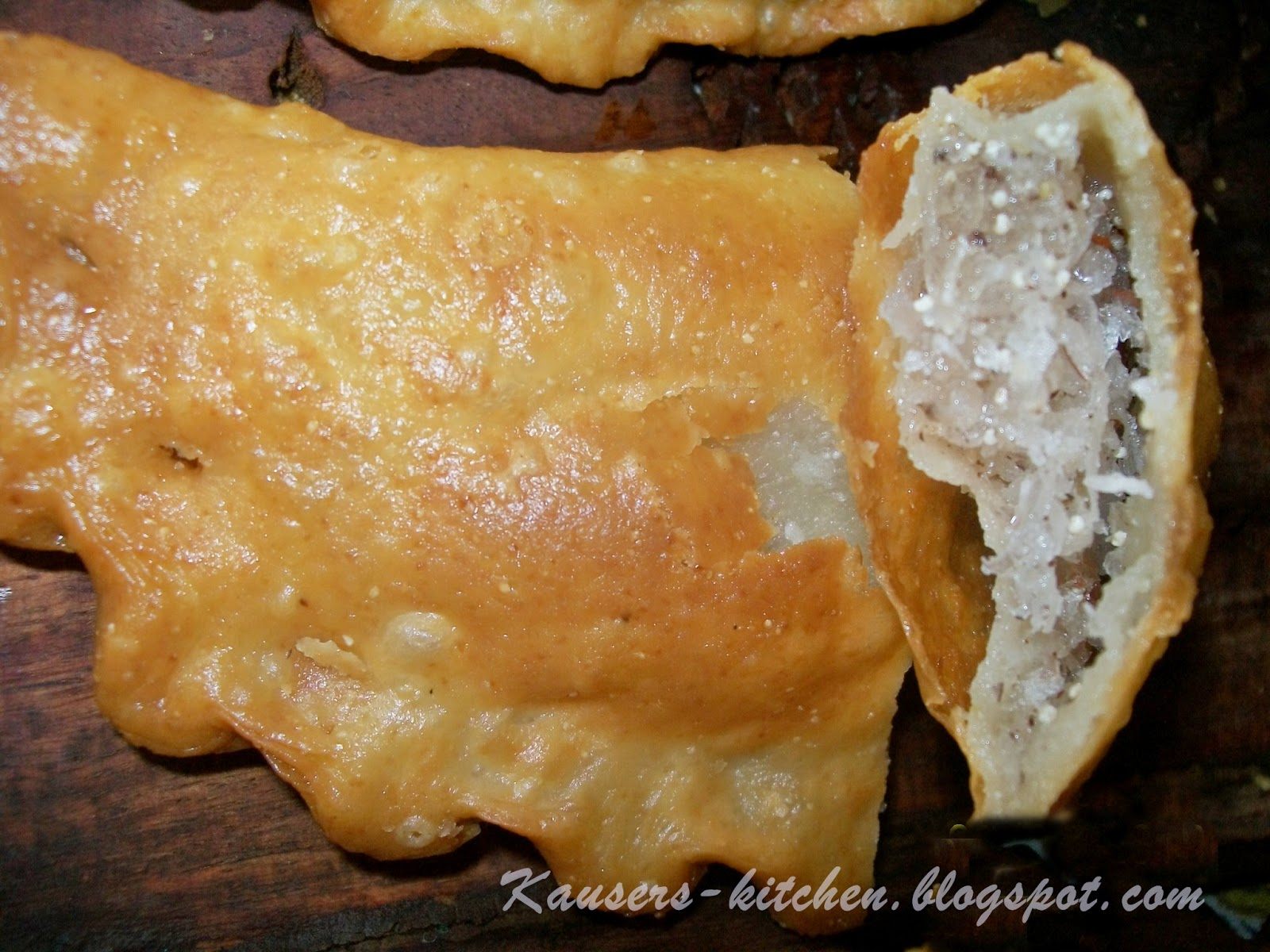 Pastry Filled With Coconut, Dry Fruits & Nuts Recipe — Dishmaps
