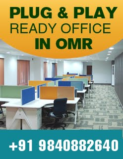 Plug &amp; Play Ready office space in OMR, Chennai
