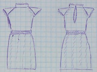 Вязаное платье реглан крючком
