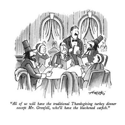 Thanksgiving Cartoon - Henry Martin