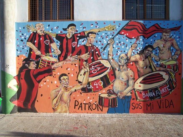 Barrismo arte y cultura murales for Murales trinchera u norte