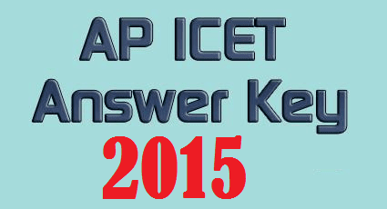 AP ICET Key 2015 - AP ICET Answer Key