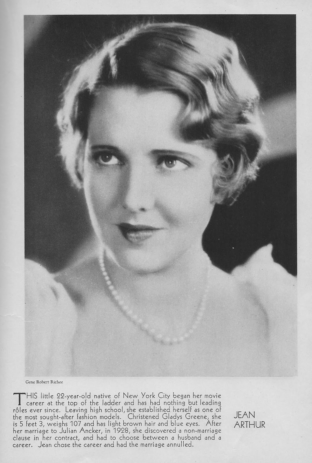 Another old movie blog jean arthur 1930 jean arthur 1930 altavistaventures Image collections