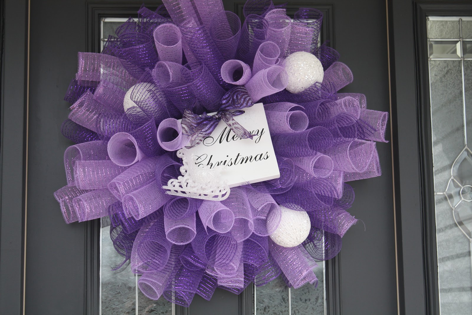 Deco Mesh Wreath Ideas