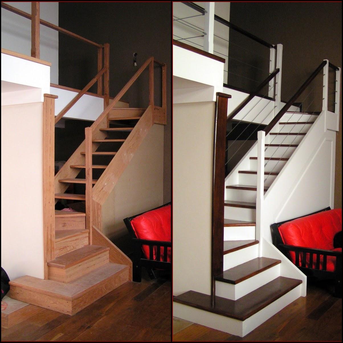 Muebles y maderas proyecto escalera en un ph final - Muebles en escalera ...