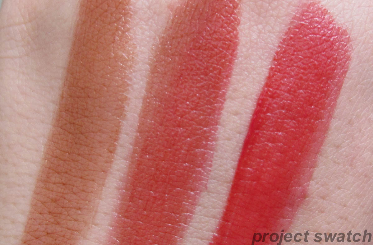 Loreal colour caresse wet shine stain - Everlasting Caramel Both Layered Endless Red