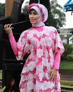 Zenitha Collection Blouse Muslimah Modern 16 Chiffon
