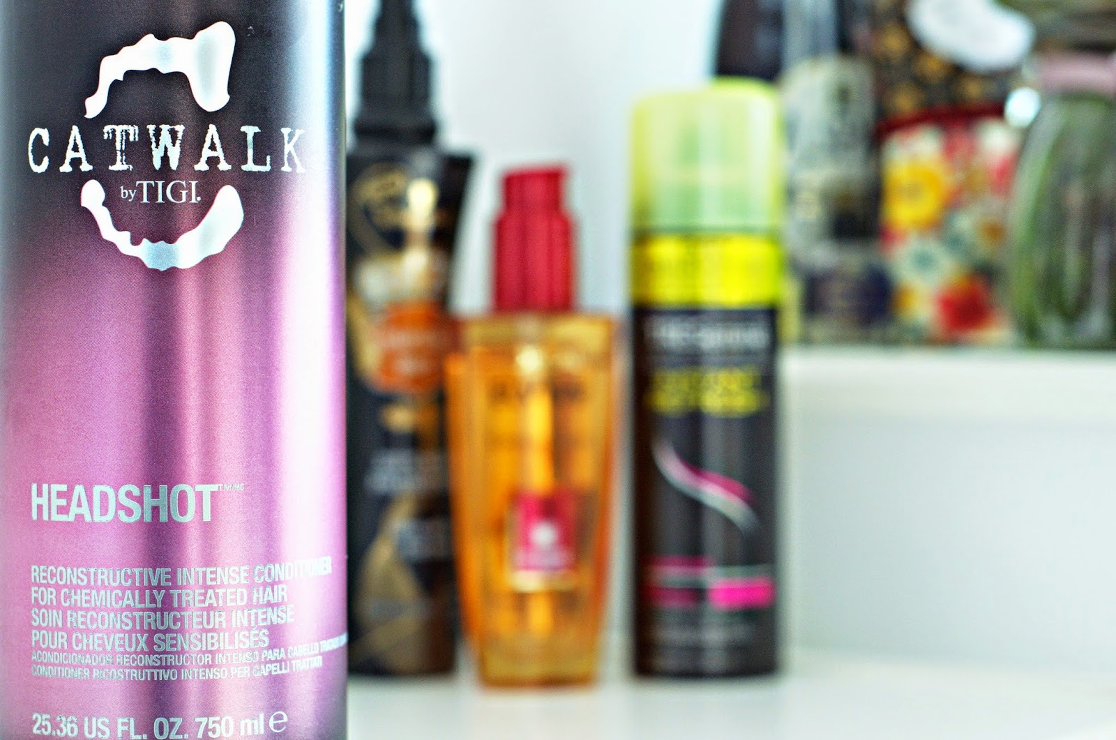 My Hair Care Routine: Catwalk TIGI Headshot
