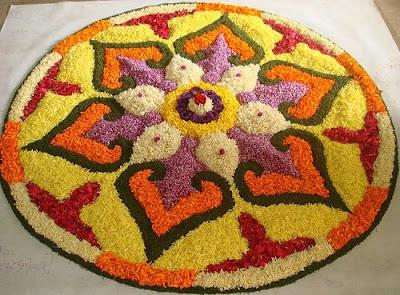 Diwali 2011 Rangoli Design & Patterns