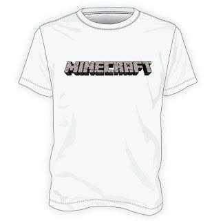Koszulka z logo Minecraft