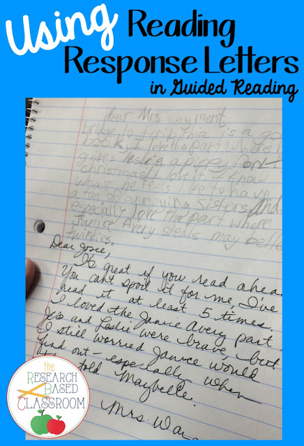 Using Reading Response Letters - The Research Based Classroom