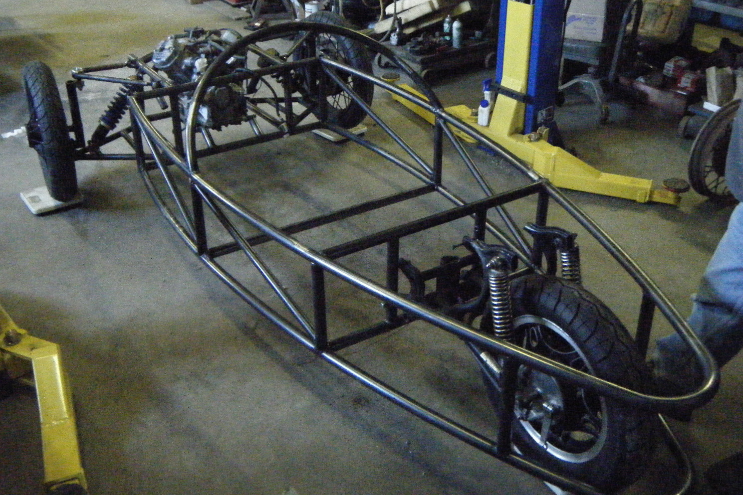 3 wheel car chassis design pdf